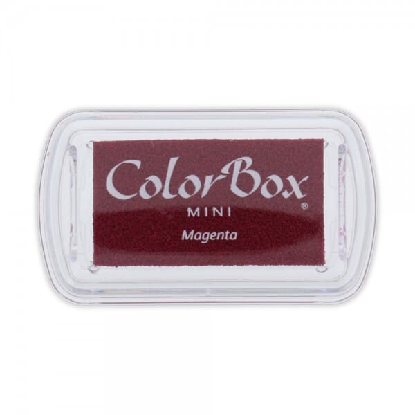 Clearsnap - Colorbox Mini Inkpad Magenta (6,7 x 3,5 cm)