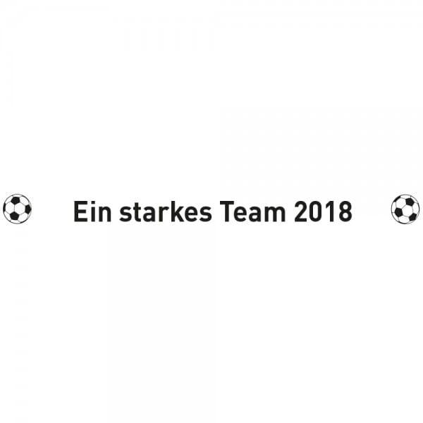 Fussball WM 2018 - Grillzange aus Holz in zwei Größen