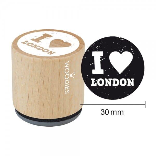 Woodies Stempel - I love London bei Stempel-Fabrik