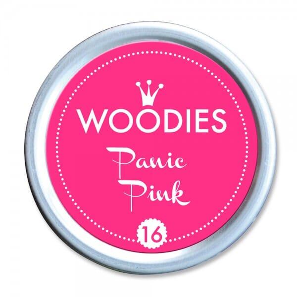 Woodies Stempelkissen - Panic Pink neon bei Stempel-Fabrik