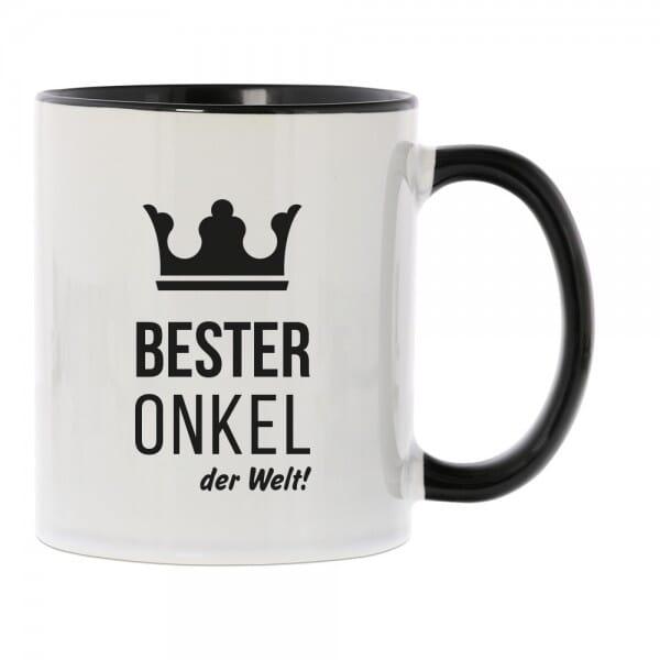 """Keramiktasse """"Bester Onkel der Welt"""""""