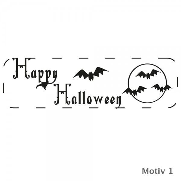 Halloween - Holzstempel (70x20 mm)