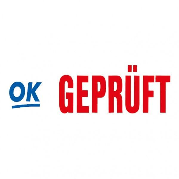 "Trodat Office Printy Textstempel ""Geprüft"" 4912 (47x18 mm)"
