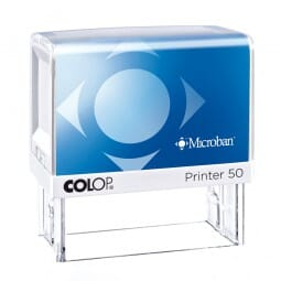 Colop Printer 50 Microban (69x30 mm - 7 Zeilen)