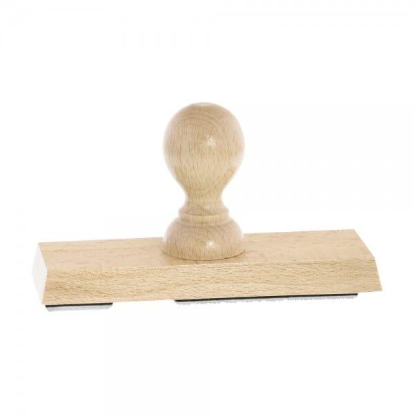 Holzstempel (150x50 mm - 10 Zeilen)
