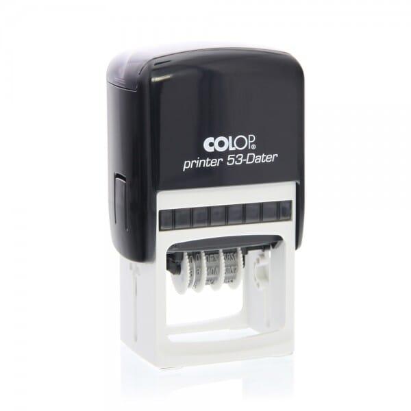 Colop Printer 53 Dater (45x30 mm - 5 Zeilen) bei Stempel-Fabrik