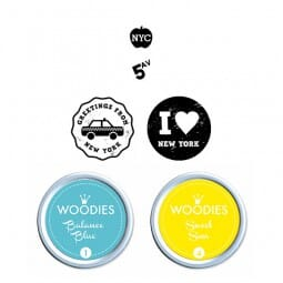 Woodies Stempel SET - New York WS0014