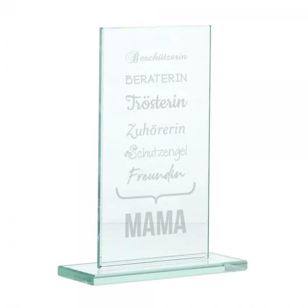 """Glasständer """"Mama"""""""