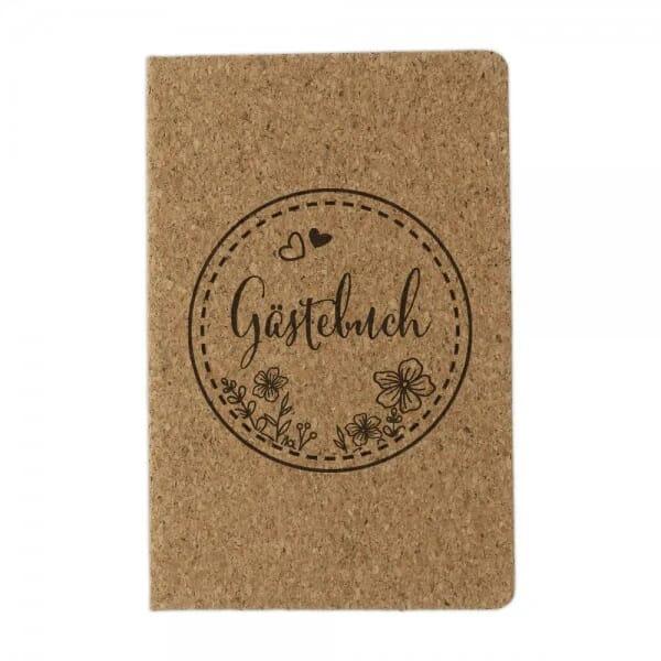 "Gästebuch aus Kork ""Papierdekor"""