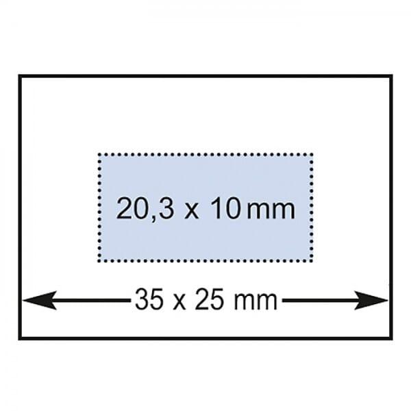 Reiner Datumstempel D280 mit Textplatte (35x25 mm)