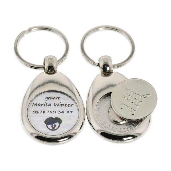 Schlüsselanhänger (Gravurmaß Ø 20 mm)