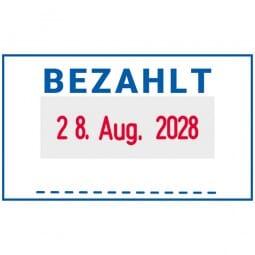 Trodat Professional 5430 BEZAHLT (41x24 mm)