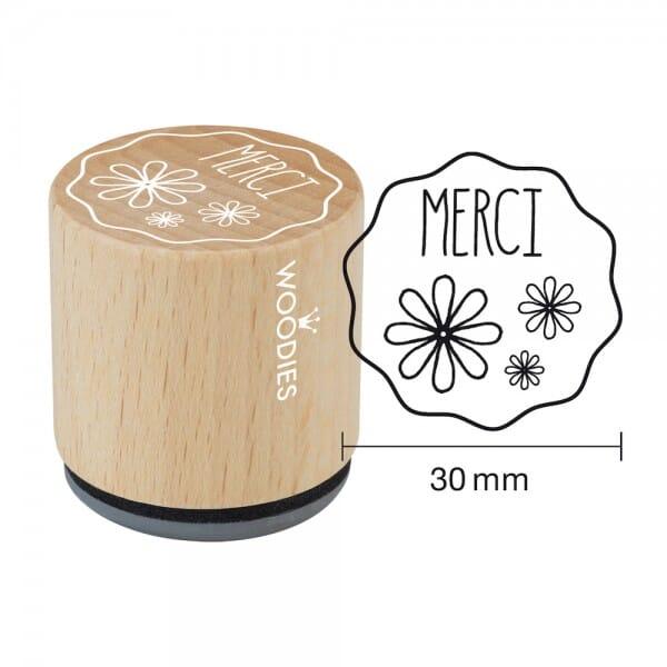 Woodies Stempel - Merci Motiv 2 W12005