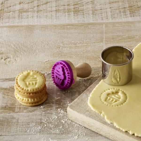 Birkmann Keksstempel mit Cupcake Motiv (Ø50 mm)