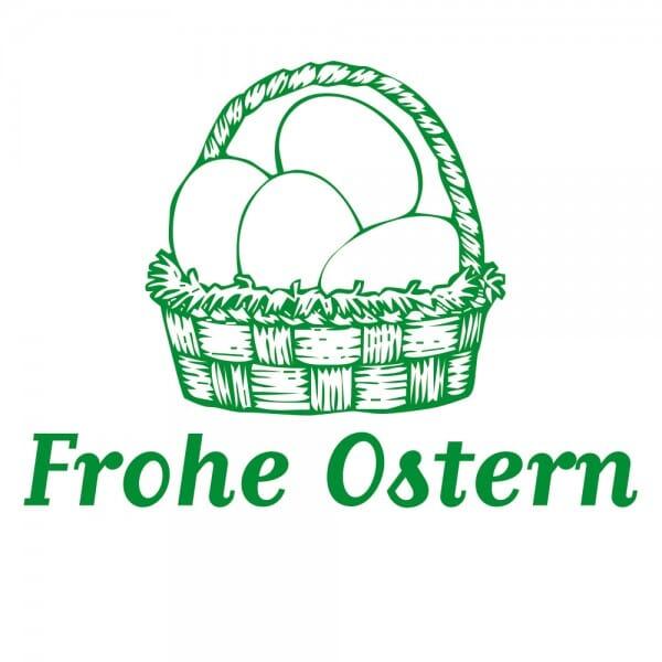 Ostern Holzstempel - Eierkorb (40x30 mm)