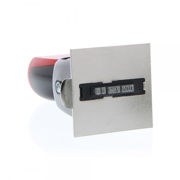 Colop Platten-Datumstempel P 700/32 (51x51 mm - 10 Zeilen)