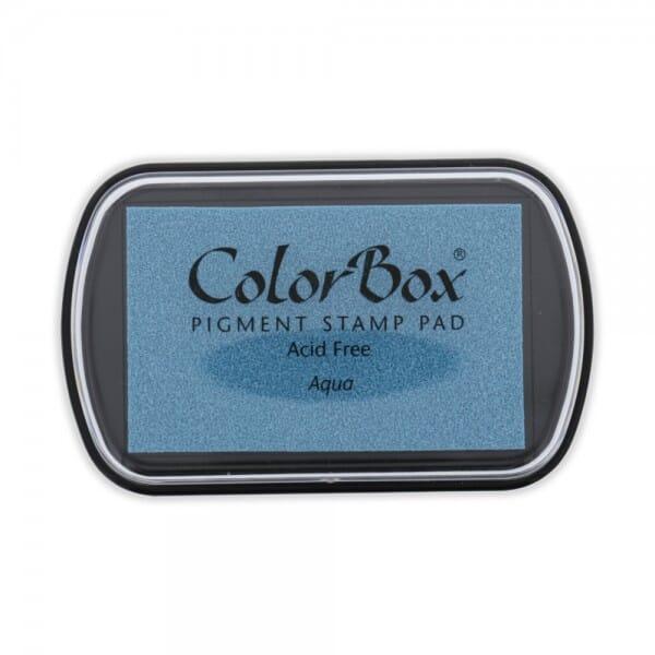 Clearsnap Colorbox - Aqua Stempelkissen (10 x 6,3 cm)
