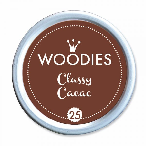 Woodies Stempelkissen - Classic Cacao bei Stempel-Fabrik
