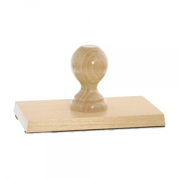 Holzstempel (180x100 mm - 20 Zeilen)