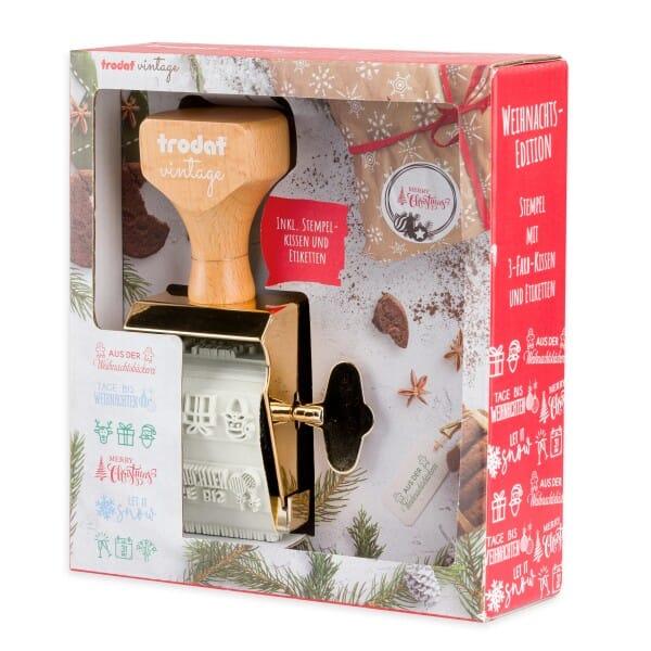 """TRODAT Vintage Stempel Weihnachten """"Winter Edition"""""""