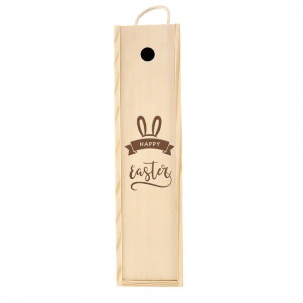 """Weinkiste/Geschenkkiste """"Happy Easter"""""""