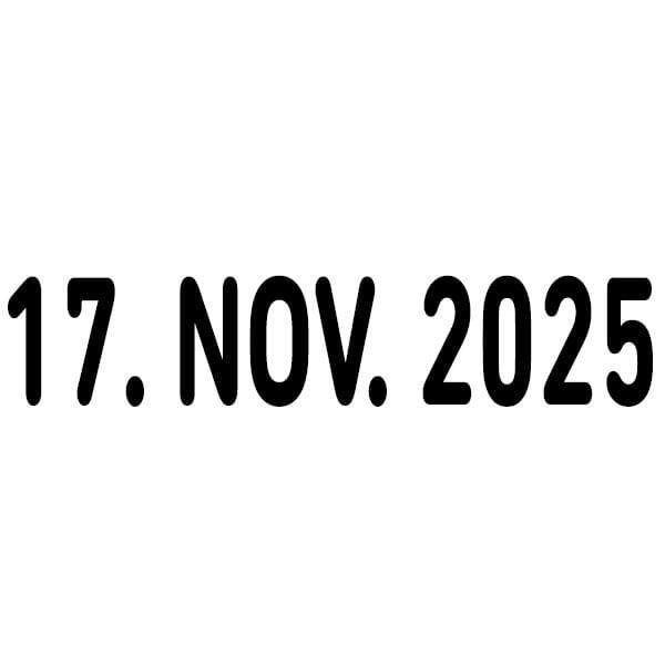 Trodat Classic Datumstempel 1030 (44x9 mm)