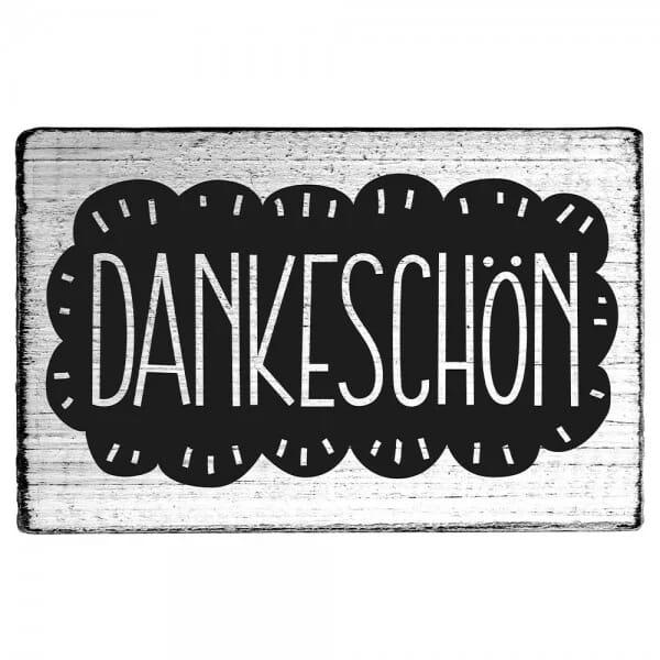 """Vintage Stempel """"Dankeschön"""""""