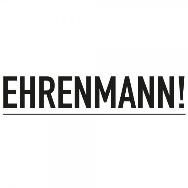 Ehrenmann, Jugendwort 2018 - Dormy Imprint 12 (47x14 mm)