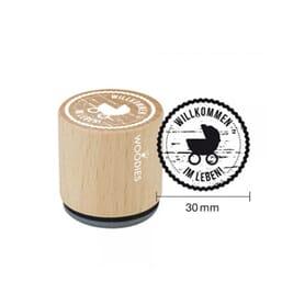 Woodies Stempel Baby – Geburt