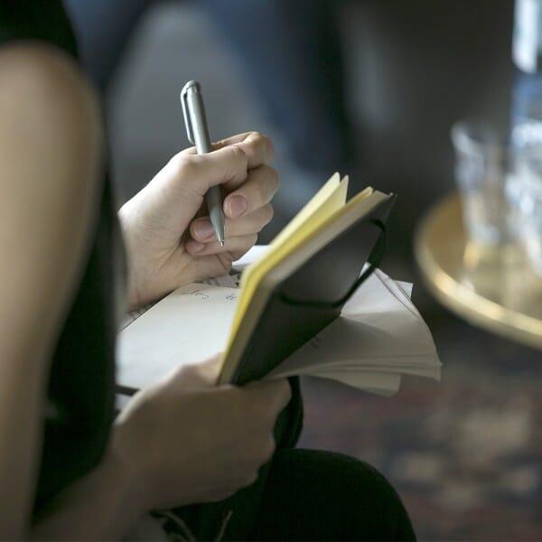 Werbegeschenke, die zum Schreiben anregen