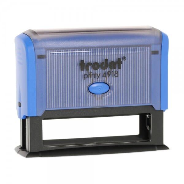 AKTION - Trodat Printy 4918 (75x15 mm - 4 Zeilen)