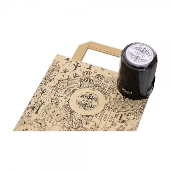 Papiertüten - Tütle mit Wimmelbild - Größe L (8,6 Liter - 250 Stück)