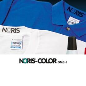 Noris Stempelfarben für Textilien