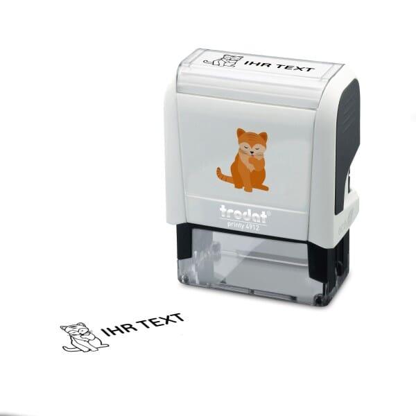 "Namensstempel ""Katze"" Trodat Printy 4912"