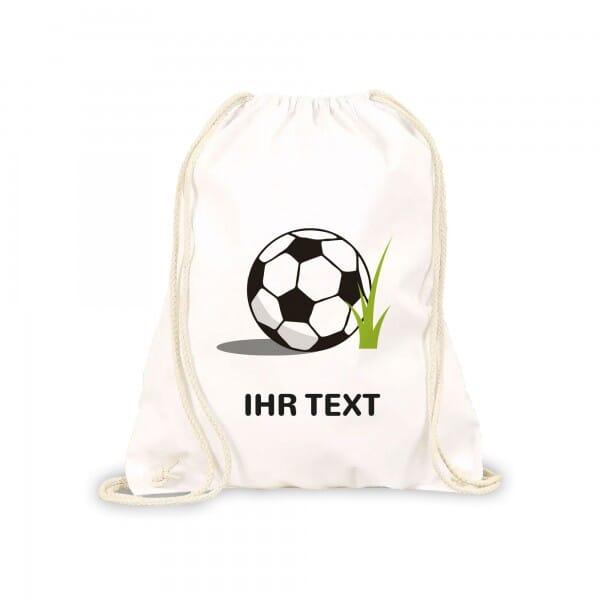 """Kinderrucksack &Turnbeutel """"Fußball"""" inkl. individueller Druck"""
