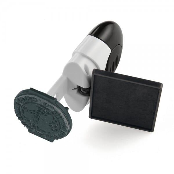 Taucherstempel - Padi Colop Pocket Stamp R 25 (Ø 25 mm - 5 Zeilen)