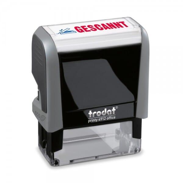 Trodat Office Printy Textstempel ´´Gescannt´´ 4912 (47x18 mm) bei Stempel-Fabrik