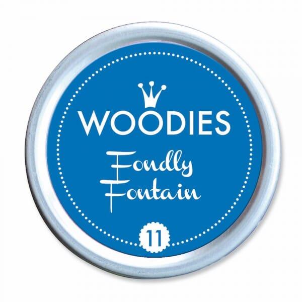 Woodies Stempelkissen - Fondly Fontain bei Stempel-Fabrik
