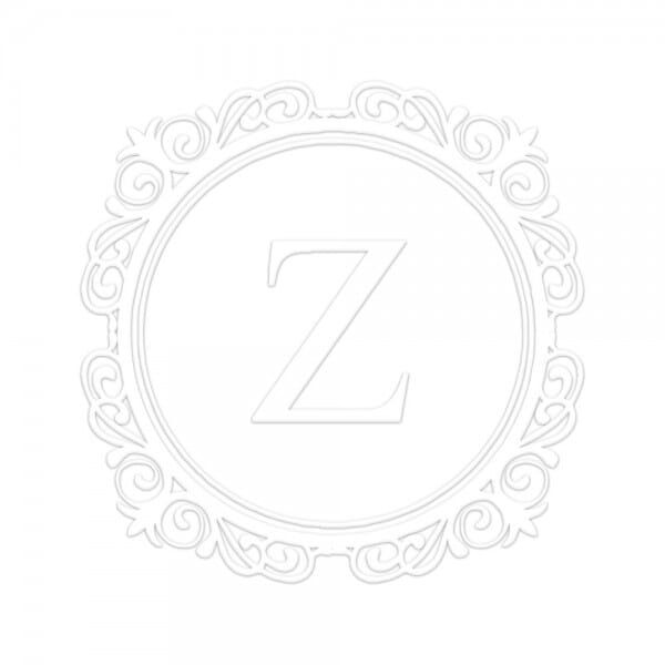 Monogramm-Prägezange 51 mm rund - Eleganter Kreis