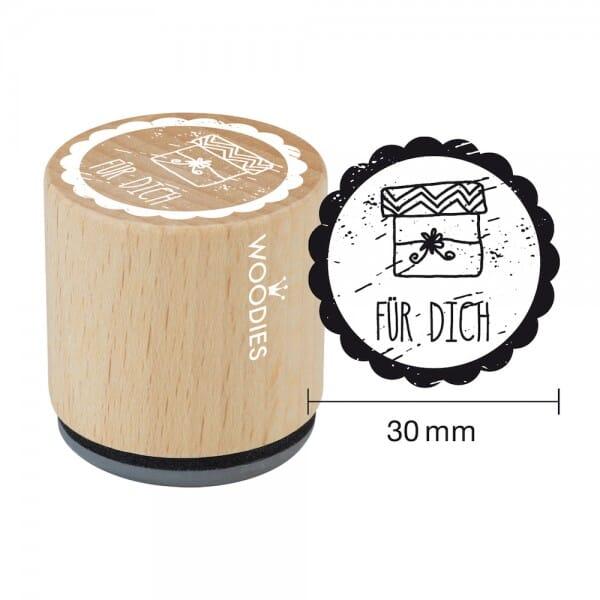 Woodies Stempel - Für Dich Motiv 2 W01005