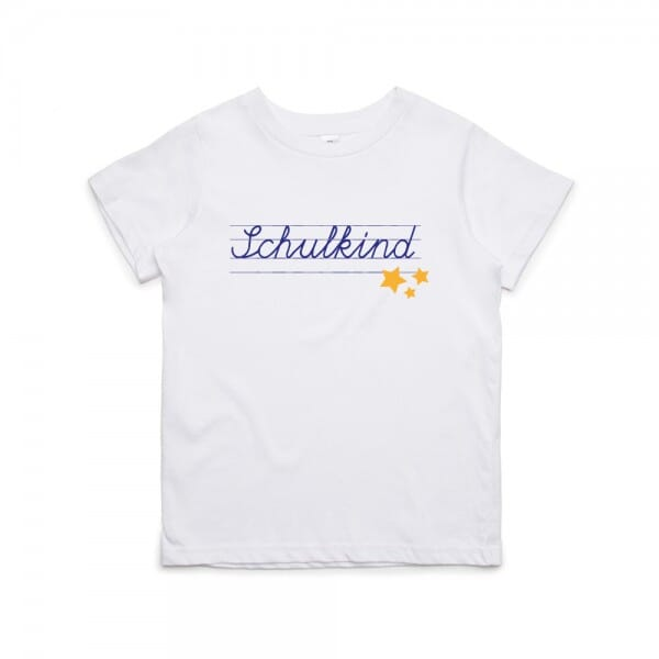 "Kinder T- Shirt ""Schulkind"""