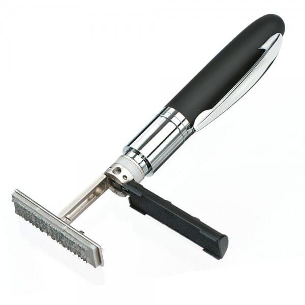 Heri Mini Stamp & Smart Pen 4321 Kugelschreiberstempel Schwarz (33x8 mm - 3 Zeilen)
