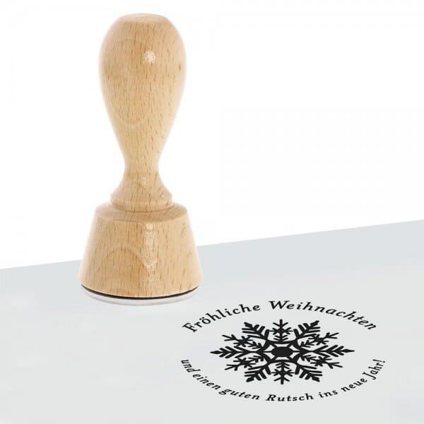 Weihnachten Holzstempel (Ø 40 mm)