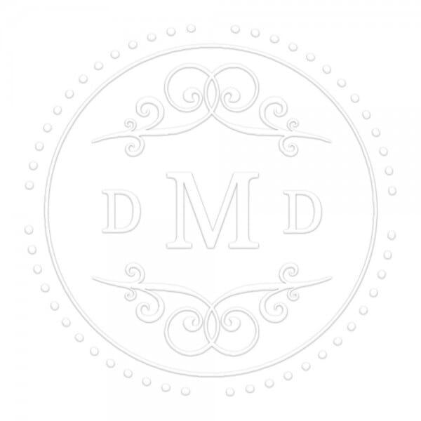 Monogramm-Prägezange 51 mm rund - Fantasie