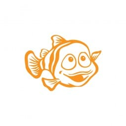 """Motivationsstempel - Lehrerstempel """"Fisch"""" (Ø 22 mm)"""
