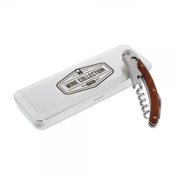 AKTION - Edelstahl Kellnermesser (Gravurmaß 14x4,5 cm)
