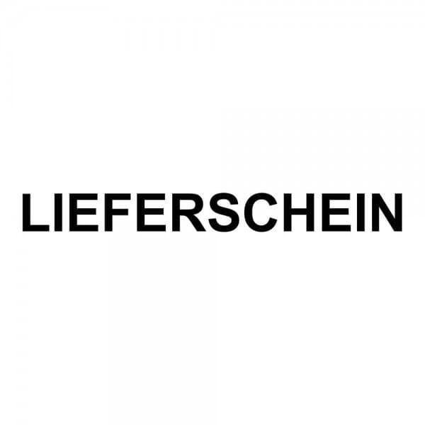 Holzstempel LIEFERSCHEIN (50x10 mm - 1 Zeile)