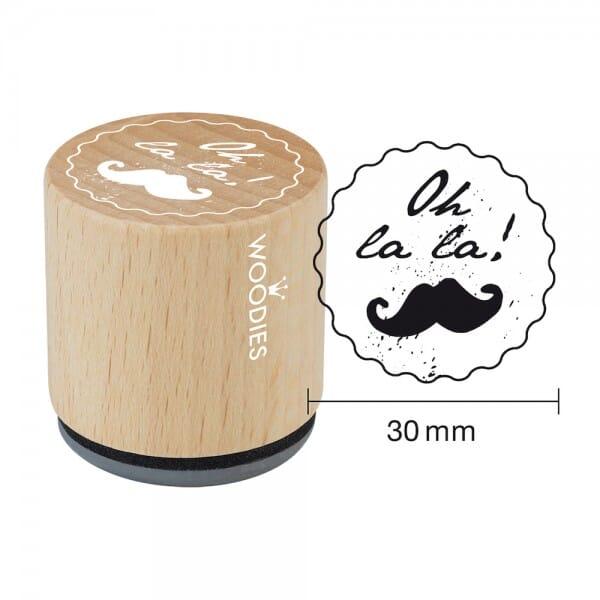 Woodies Stempel - Oh la la! WE1202