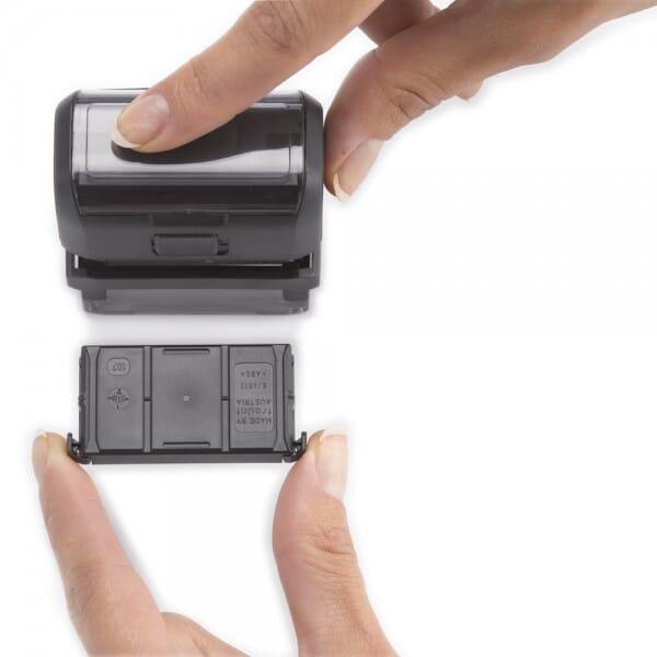 stempel-fabrik.de QR-Code Trodat Printy 4915 (70x25 mm - 7 Zeilen)