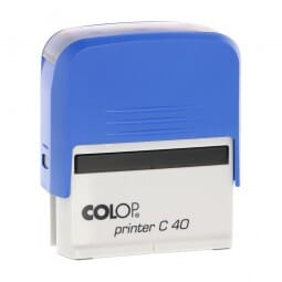 AKTION - Colop Printer C40 blau (59x23 mm - 5 Zeilen)
